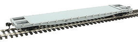 WalthersMainline 53 GSC Piggyback Service Flatcar Undecorated HO Scale Model Train Freight #5100