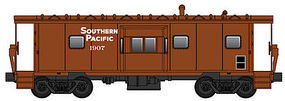WalthersMainline International Bay Window Caboose Southern Pacific #1907 HO Scale Model Train Freight Car #8664
