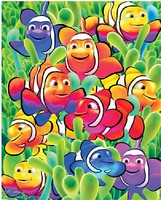 WhiteMount Cute Clown Fishes Puzzle Ages 5+ (60pc)