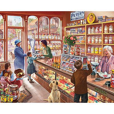 White Mountian Puzzles The Old Candy Store 1000pcs -- Jigsaw Puzzle 600-1000 Piece -- #1083pz
