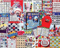 WhiteMount Bingo Game Collage Puzzle (1000pc)