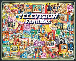 WhiteMount Television Families Collage Puzzle (1000pc)