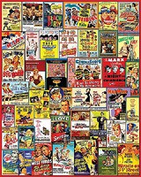 WhiteMount Comedy Movie Posters Collage Puzzle (1000pc)