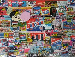 WhiteMount Bazooka Bubble Gum Collage Puzzle (1000pc)