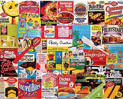 WhiteMount Betty Crocker Products Collage Puzzle (1000pc)