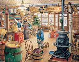 WhiteMount The Olde General Store Puzzle (1000pc)