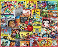 WhiteMount Lunch Boxes Collage Puzzle (1000pc) (D)