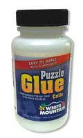 WhiteMount Puzzle Glue 4oz. Jar