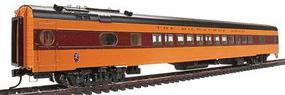 Walthers Milwaukee Road 1955 Twin Cities Hiawatha Streamlined Cars Assembled 52-Seat Coach #498 Series - HO-Scale
