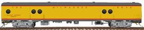 Walthers Milwaukee Road Express Car w/Conductors Window #1330-36 - Ready to Run Milwaukee Road (UP City Scheme, Armour Yellow, gray) - HO-Scale