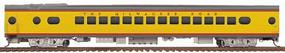 Walthers Milwaukee Road Valley Series 30-Seat Parlor #190-97 - Ready to Run Straight Sills & Disc Brakes Milwaukee (UP City Scheme, Armour Yellow, gray) - HO-Scale