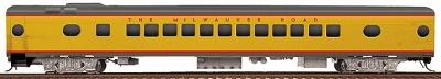 Walthers Milwaukee Road #498-Series 52-Seat Coach -- HO Scale Model Train Passenger Car -- #9302