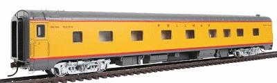 Walthers UP City Streamliner 4-4-2 Sleeper P-S Plan #4069H - Ready to Run -- Union Pacific(R) Imperial Series (Armour Yellow, gray, silver, red) - HO-Scale