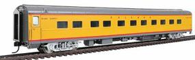 Walthers UP City Streamliner 11 Double-Bedroom Sleeper P-S Plan #4198 - Ready to Run Union Pacific(R) Placid Series (Armour Yellow, gray, silver, red) - HO-Scale