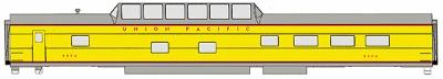 Walthers UP City Streamliner Cars Ready to Run -- Dome-Diner #8000-8009 ACF Lot #4098 Union Pacific(R) - HO-Scale
