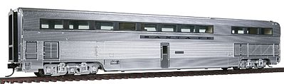 Walthers Santa Fe El Capitan Budd 85' Hi-Level Diner -- HO Scale Model Train Passenger Car -- #9790