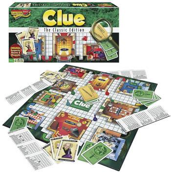 Winning Moves Clue Classic Edition -- Trivia Game -- #1137