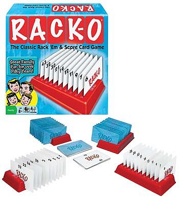 Winning Moves Rack-O -- Card Game -- #1141