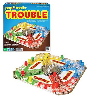 Winning Moves Classic Trouble -- Trivia Game -- #1176
