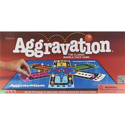 Winning Moves Aggravation -- Trivia Game -- #1180