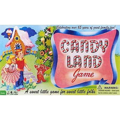 Winning Moves Candy Land 65th Anniversary Edition -- Trivia Game -- #1189