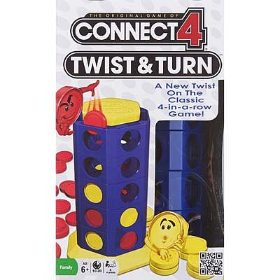 Winning Moves Connect 4 Twist / Turn -- Trivia Game -- #1190