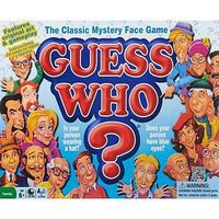 Winning-Moves Guess Who 1980s Mystery Face Game Trivia Game #1191