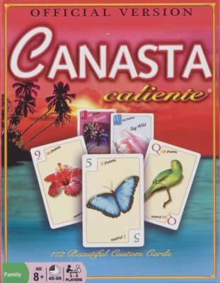 Winning Moves Canasta Caliente -- Card Game -- #6111