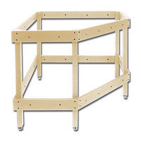 Woodland Corner Module Kit Stand Building Supplies #4791