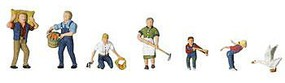 Woodland Farm People N Scale Model Railroad Figure #a2152