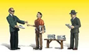 Woodland Scenic Accents(R) Figures Neds Newsstands G Scale Model Railroad Figure #a2559