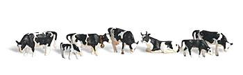 Woodland Scenics Holstein Cows -- O Scale Model Railroad Figure -- #a2724