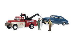 Woodland Wayne Reckers Tow Service AutoScenes N Scale Model Railroad Vehicle #as5324