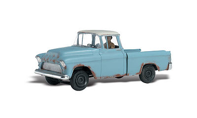 Woodland Scenics Pickem' Up Truck -- AutoScenes -- HO Scale Model Railroad Vehicle -- #as5534