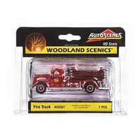 Woodland Fire Truck HO Scale Model Railroad Vehicle #as5567