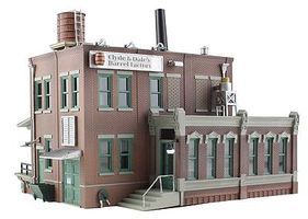 Woodland Clyde & Dales Barrel Factory N Scale Model Railroad Building #br4924