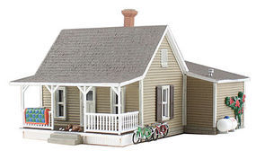 Woodland Grannys House HO Scale Model Railroad Building #br5027