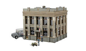 Woodland Citizens Savings & Loan HO Scale Model Railroad Building #br5033