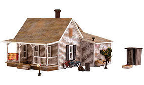 Woodland Old Homestead HO Scale Model Railroad Building #br5040