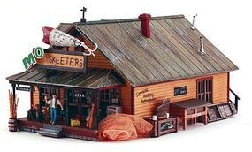 Woodland Mo Skeeters Bait/Tackle HO Scale Model Railroad Building #br5047