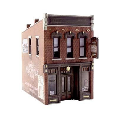 Woodland Scenics Sully's Tavern -- HO Scale Model Railroad Building -- #br5049