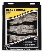 Woodland Ready Rocks Shelf Rocks Model Railroad Miscellaneous Scenery #c1136