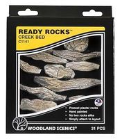 Woodland Ready Rocks Creek Bed Rocks Model Railroad Miscellaneous Scenery #c1141