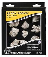 Woodland Ready Rocks Boulder Rocks Model Railroad Miscellaneous Scenery #c1142