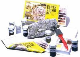 Woodland Earth Color Kit 8 Colors 1 oz. Model Railroad Scenery Supply #c1215