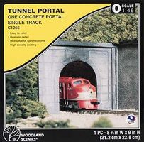 Woodland Tunnel Portal Concrete O Scale Model Railroad Tunnel #c1266