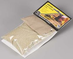Woodland Medium Buff Gravel Model Railroad Grass Earth #c1289