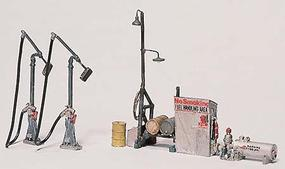 Woodland Scenic Detail Kit Diesel Fuel Facility HO Scale Model Railroad Building #d232