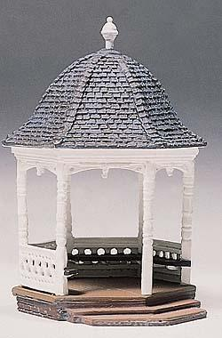 Woodland Scenics Gazebo Kit (assembly required) -- HO Scale Model Railroad Building -- #d236