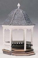 Woodland Gazebo Kit (assembly required) HO Scale Model Railroad Building #d236